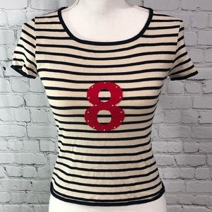 CELLINI Striped Tee Made in Italy